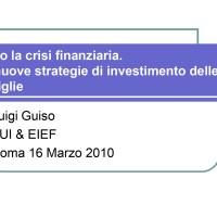 Nuove strategie di investimento per le famiglie?