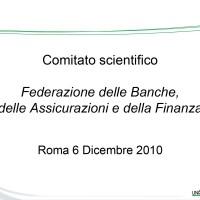Comitato scientifico Federazione Abi Ania