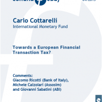 Cottarelli - European Financial Transation Tax