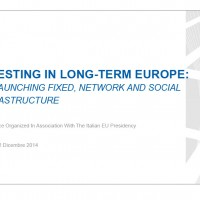 Conferenza LTI - Financing Energy Infrastructure in Europe_versi
