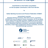 Risposta FeBAF alla Consultazione della Commissione Europea sulla Mid-term Review della CMU