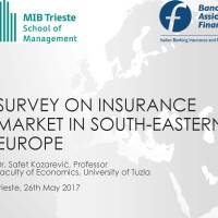 Survey on insurance market in SEE