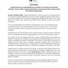 Press Release_SustainableFinance_DisasterRiskReduction_Pagina_1
