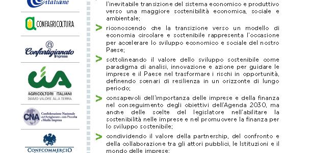 Acceleriamo la sostenibilità Patto di Milano 2019 - 1