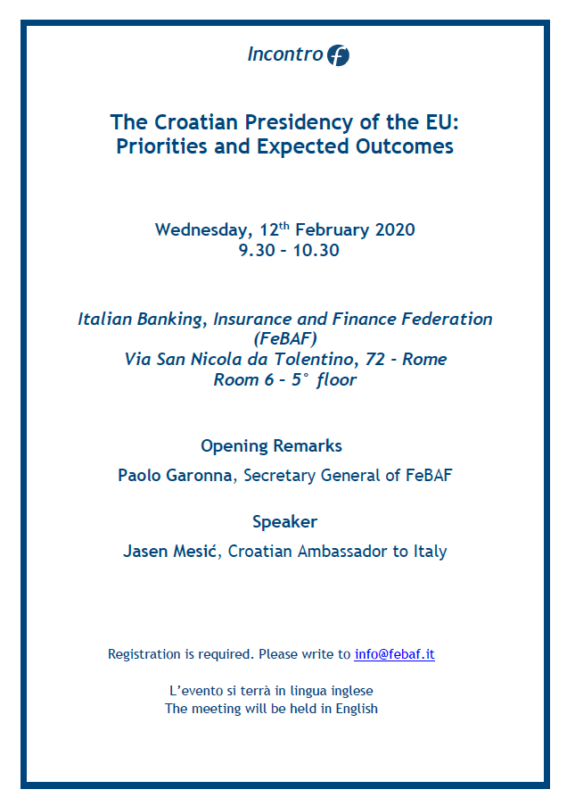 The Croatian Presidency of the EU:  Priorities and Expected Outcomes